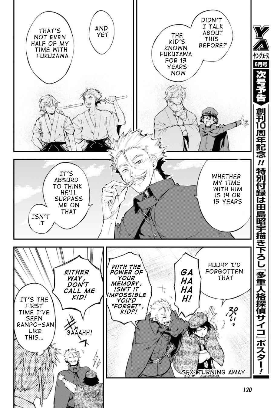 Bungou Stray Dogs Chapter 82 Page 33
