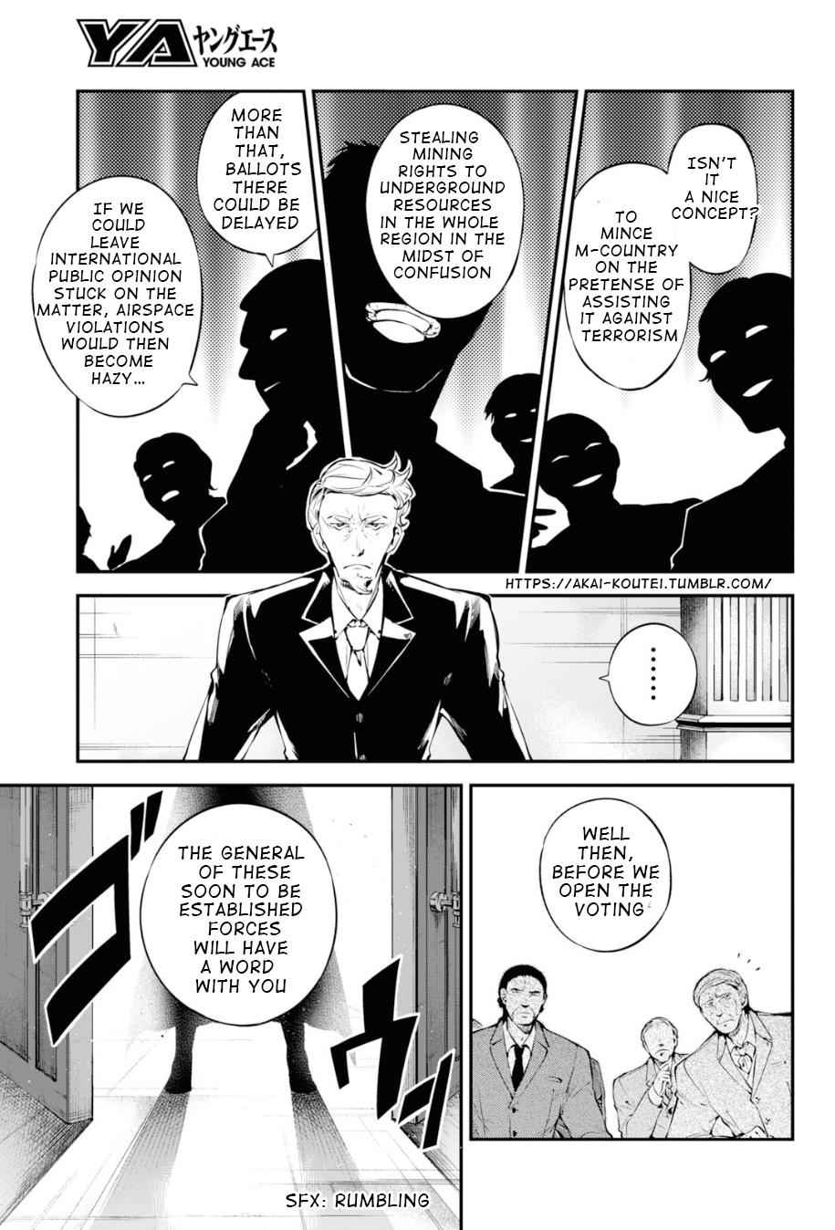 Bungou Stray Dogs Chapter 82 Page 4