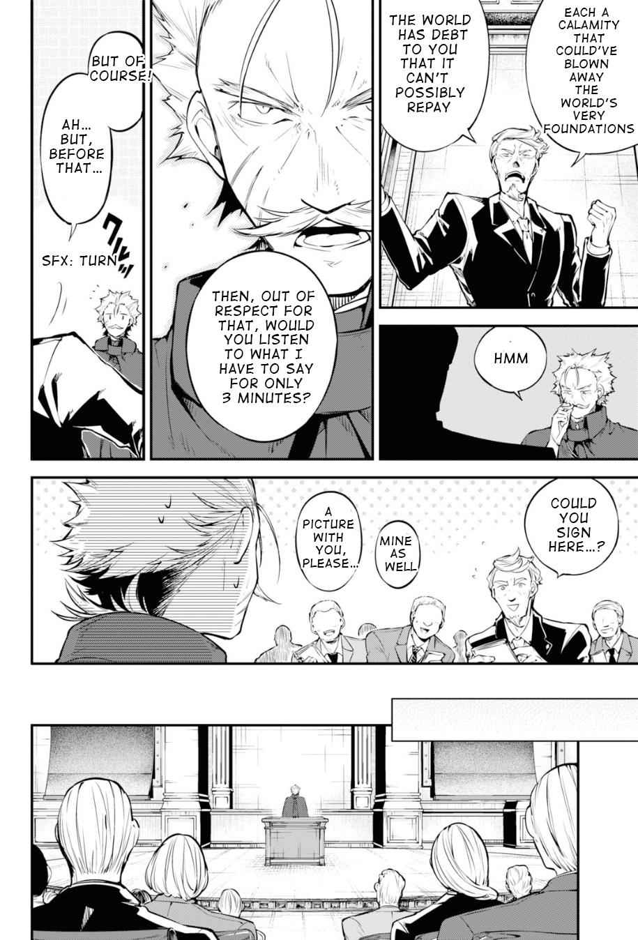 Bungou Stray Dogs Chapter 82 Page 9
