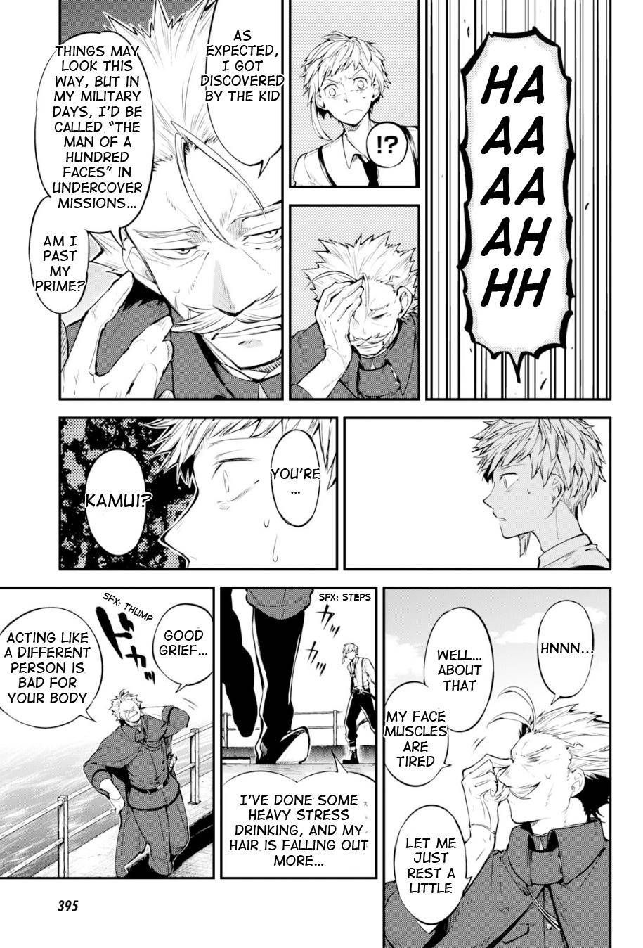 Bungou Stray Dogs Chapter 83.5 Page 10
