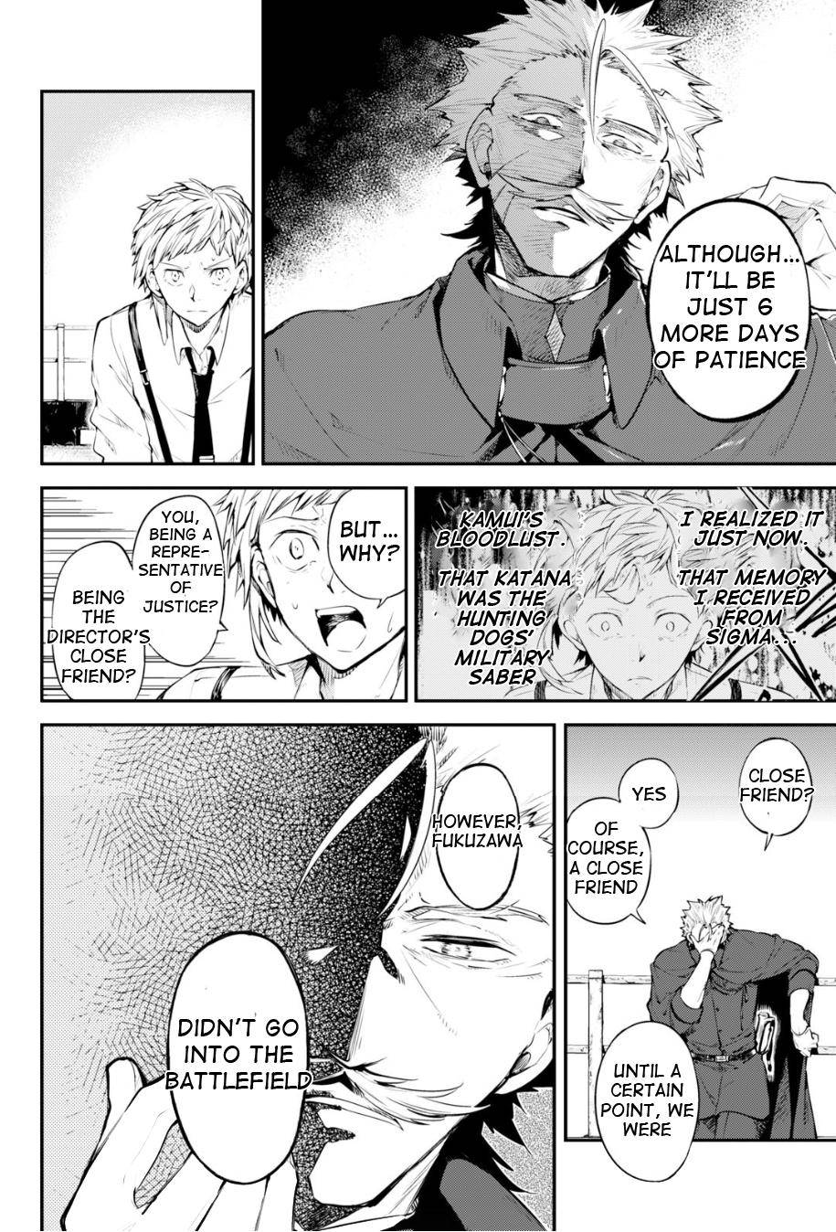 Bungou Stray Dogs Chapter 83.5 Page 11