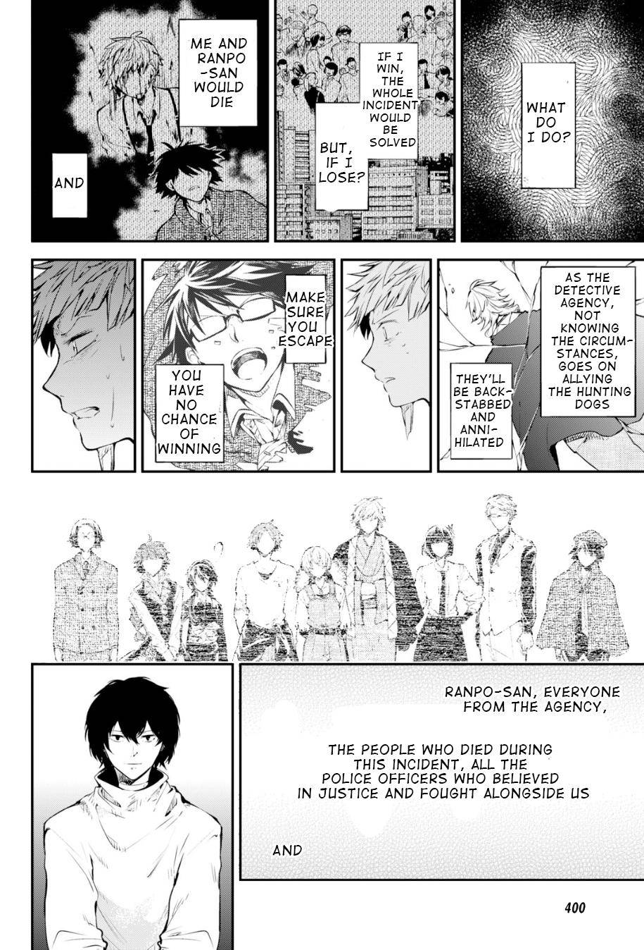 Bungou Stray Dogs Chapter 83.5 Page 15