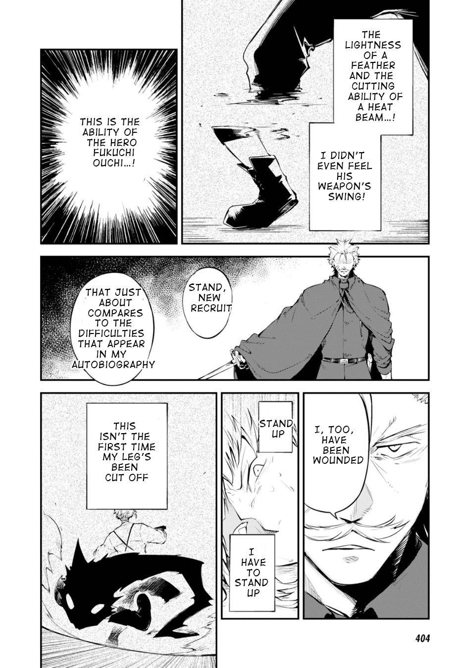 Bungou Stray Dogs Chapter 83.5 Page 19