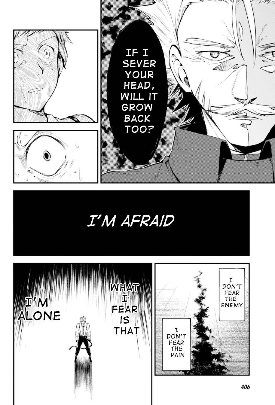 Bungou Stray Dogs Chapter 83.5 Page 21