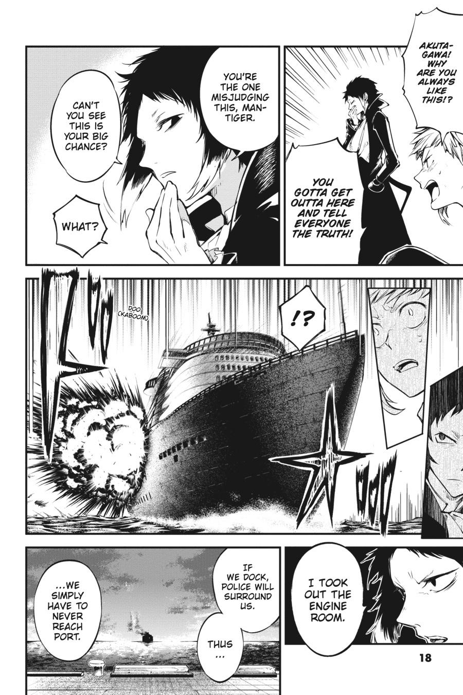Bungou Stray Dogs Chapter 84 Page 17