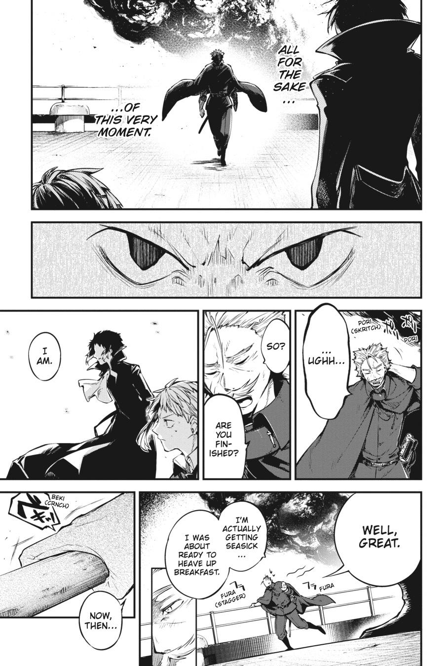 Bungou Stray Dogs Chapter 84 Page 22