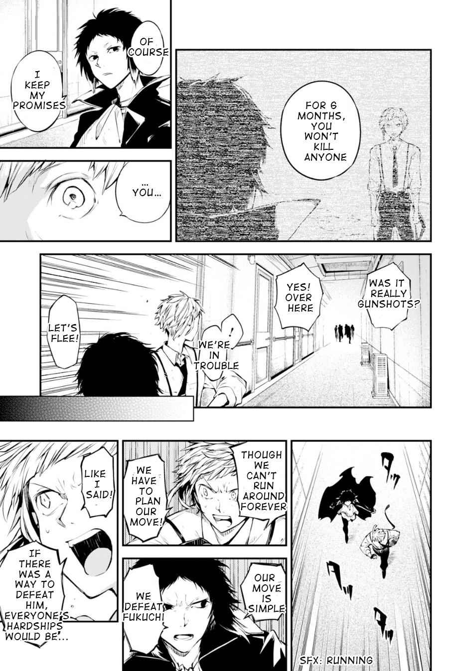 Bungou Stray Dogs Chapter 85 Page 11
