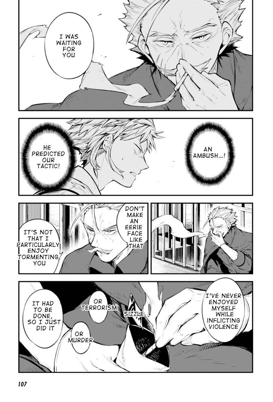Bungou Stray Dogs Chapter 85 Page 21
