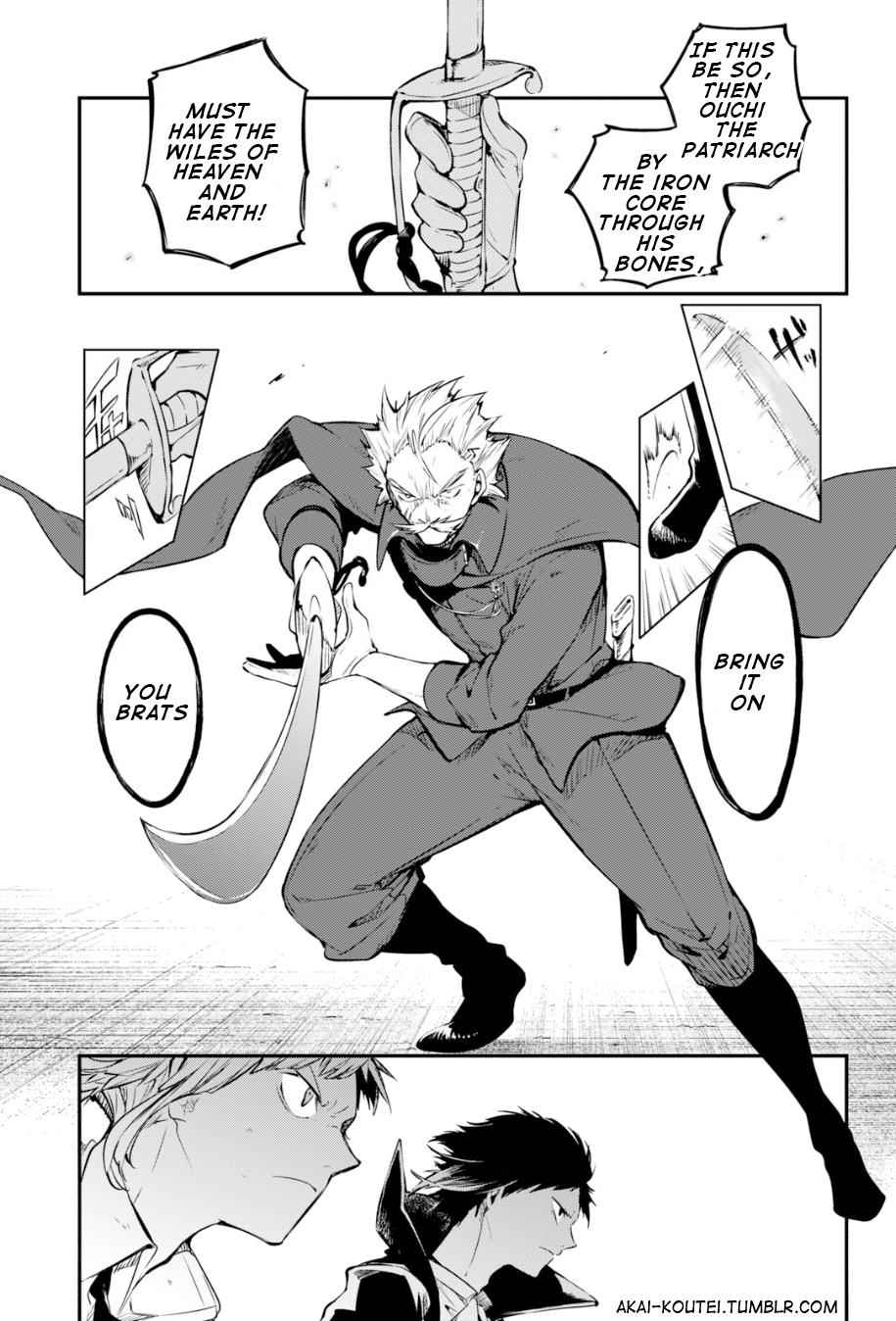 Bungou Stray Dogs Chapter 85 Page 27