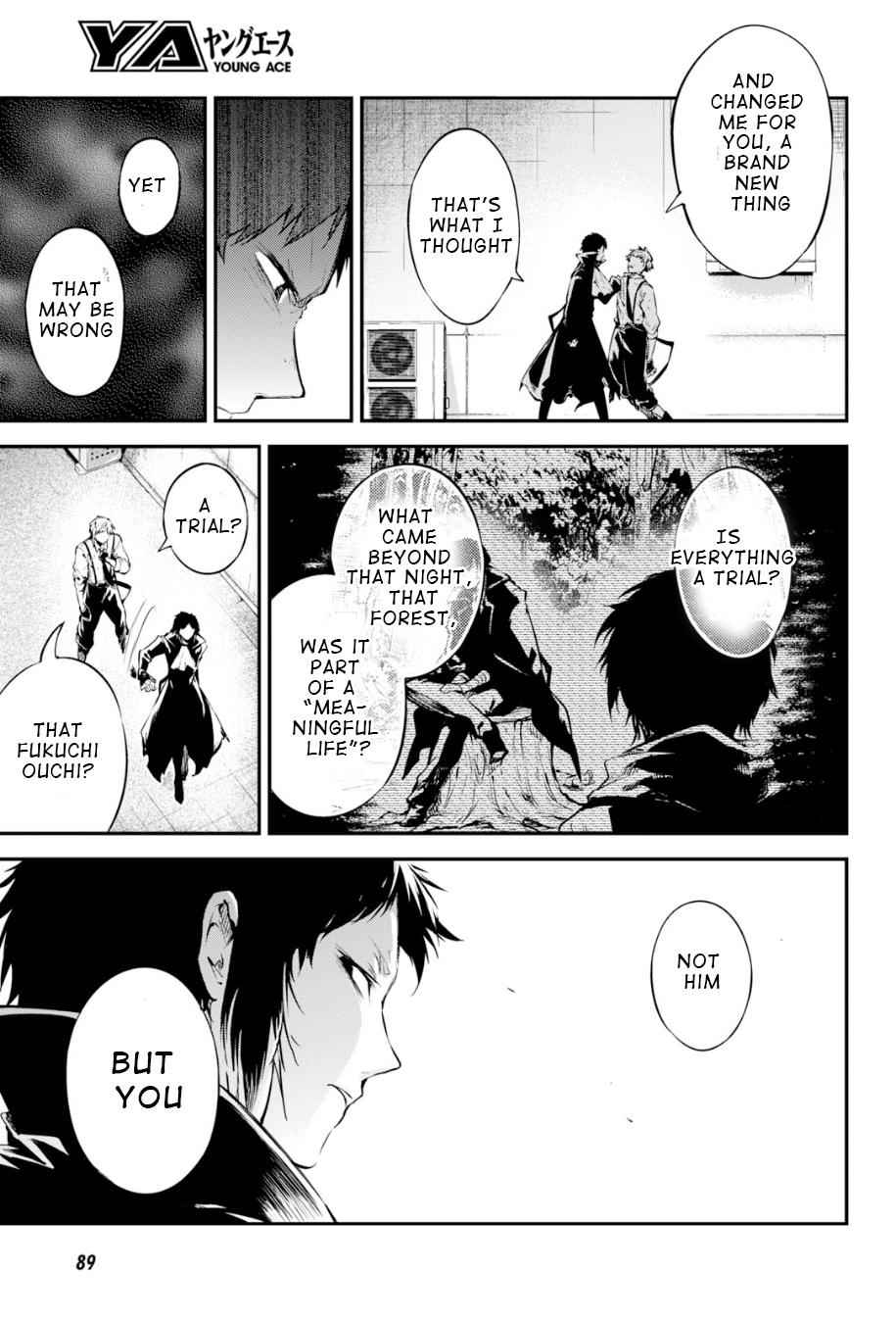Bungou Stray Dogs Chapter 85 Page 3