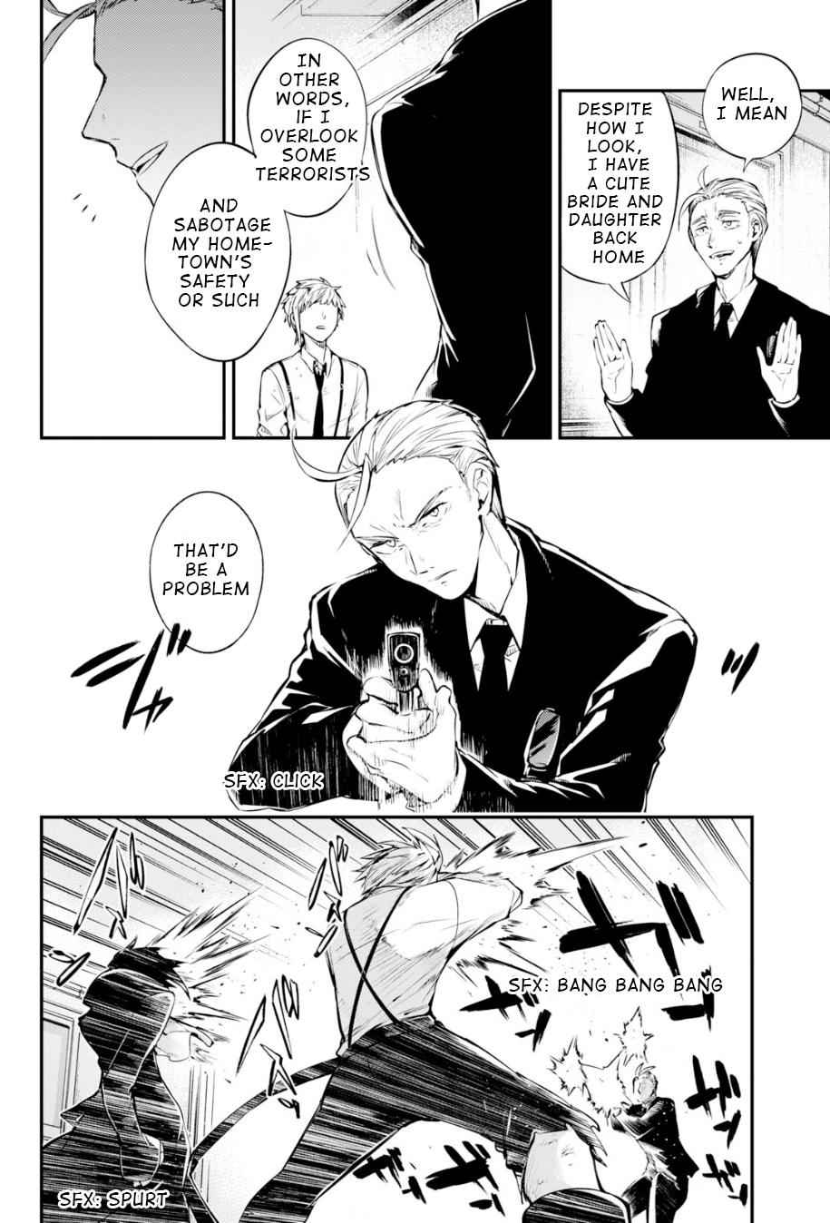 Bungou Stray Dogs Chapter 85 Page 6