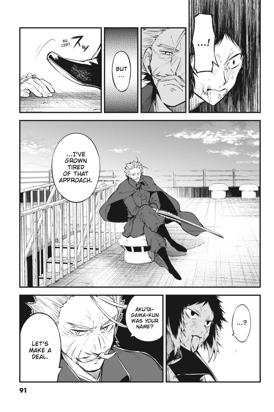 Bungou Stray Dogs Chapter 86 Page 25