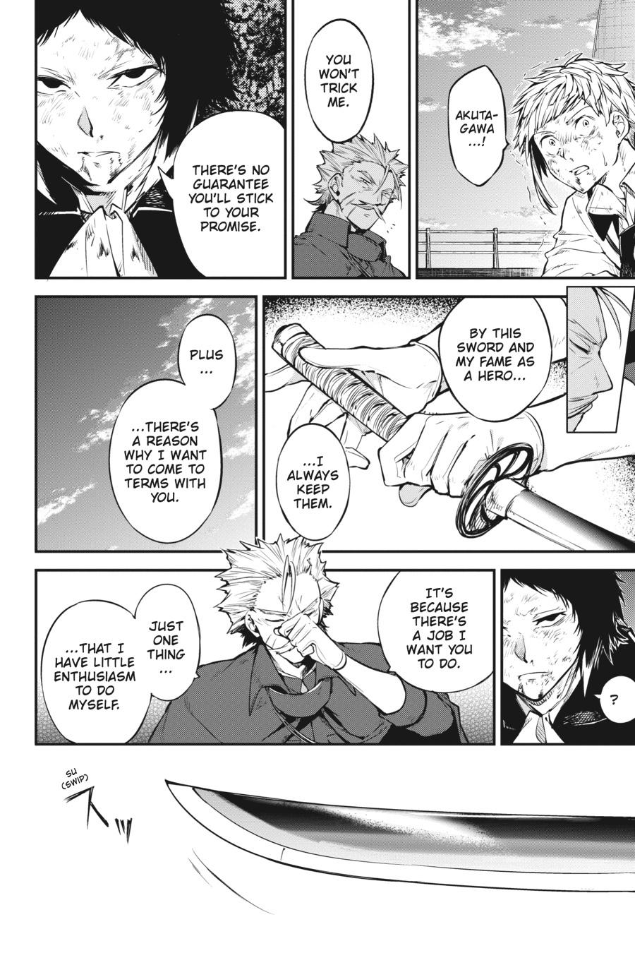 Bungou Stray Dogs Chapter 86 Page 28
