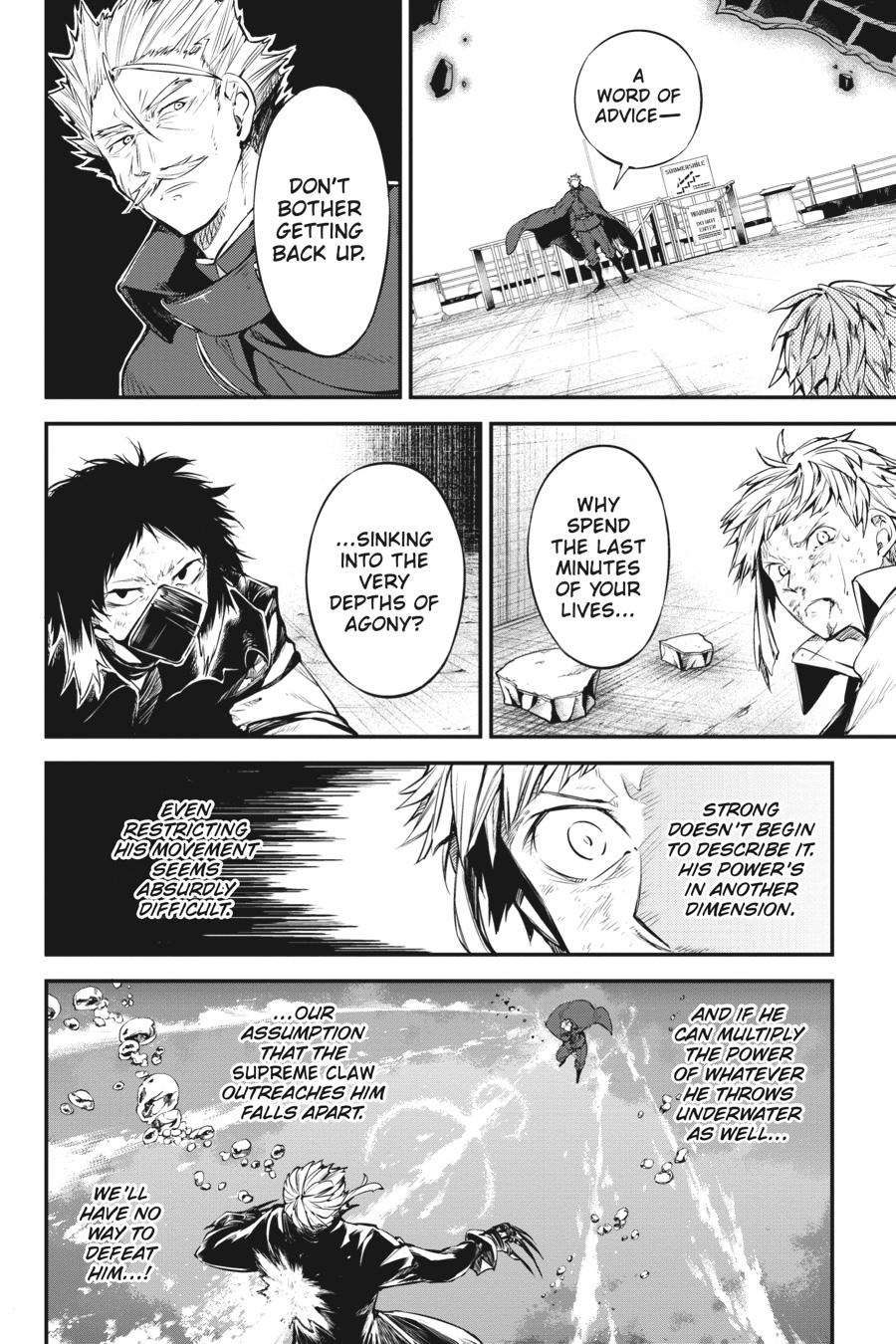 Bungou Stray Dogs Chapter 86 Page 6