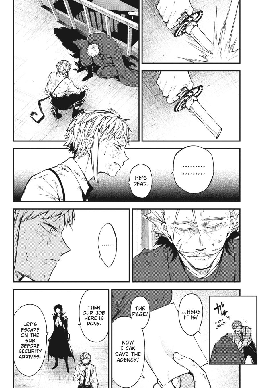 Bungou Stray Dogs Chapter 87 Page 12