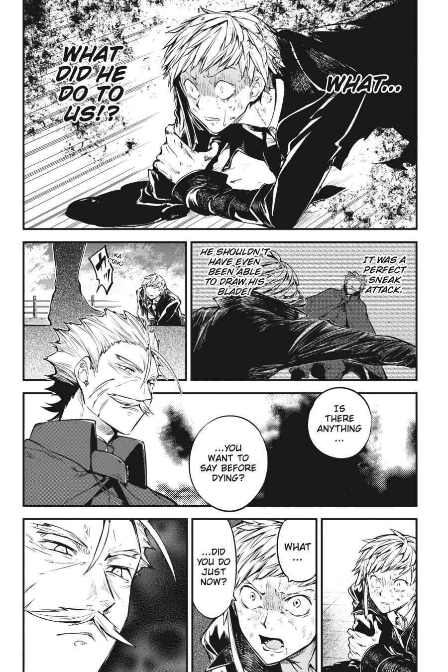 Bungou Stray Dogs Chapter 87 Page 20