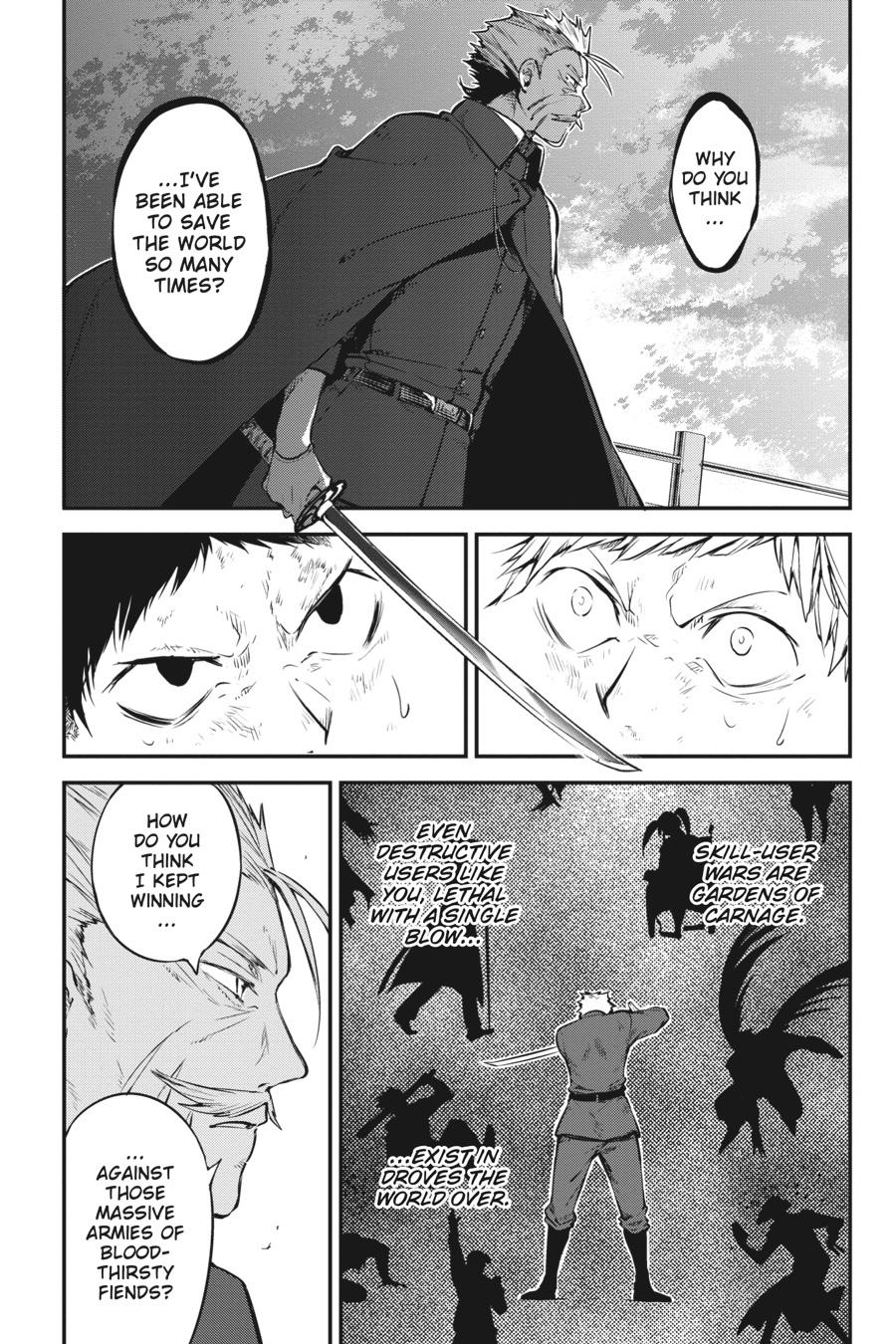 Bungou Stray Dogs Chapter 87 Page 21