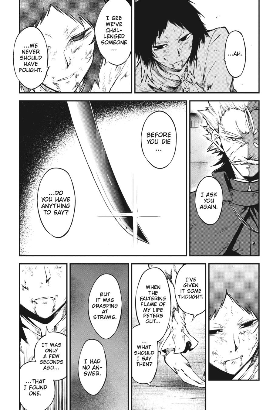 Bungou Stray Dogs Chapter 87 Page 25