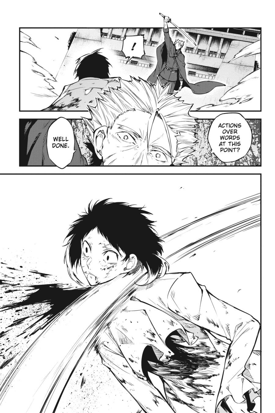 Bungou Stray Dogs Chapter 87 Page 31