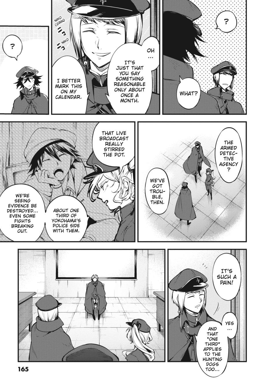 Bungou Stray Dogs Chapter 88 Page 33