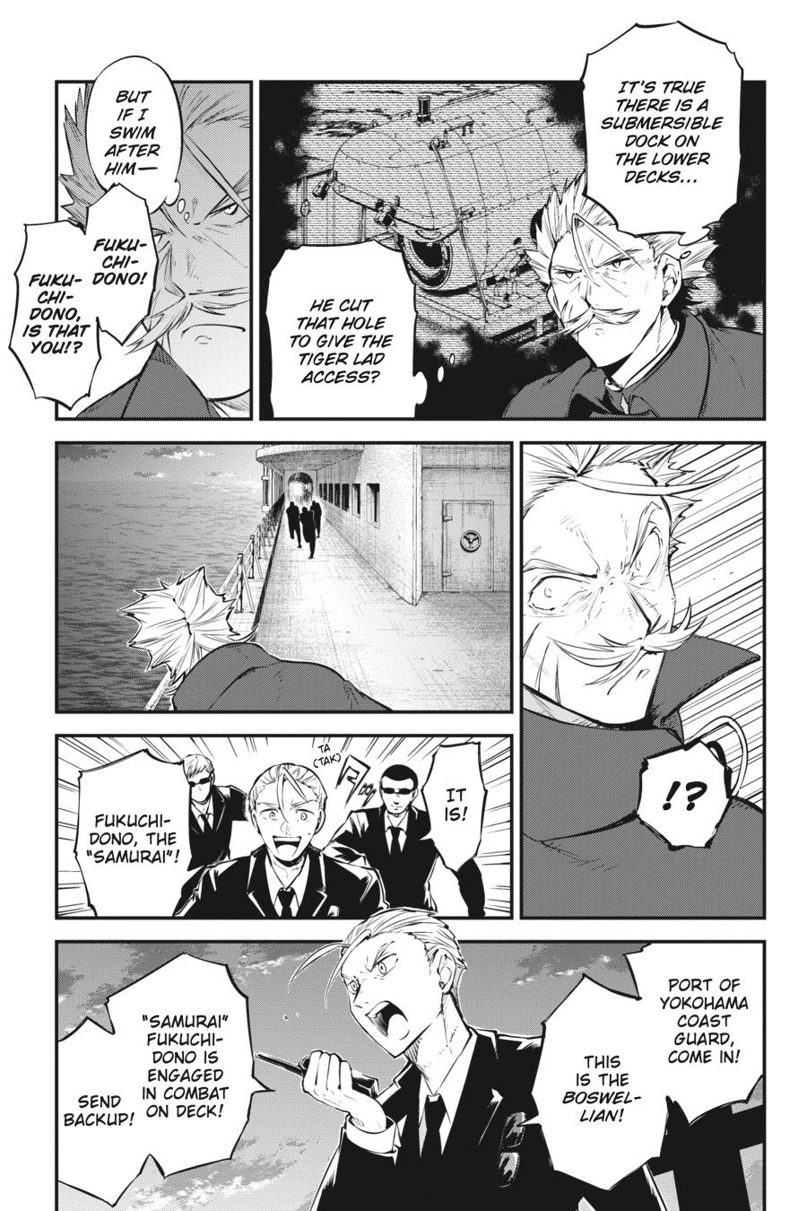 Bungou Stray Dogs Chapter 88 Page 5
