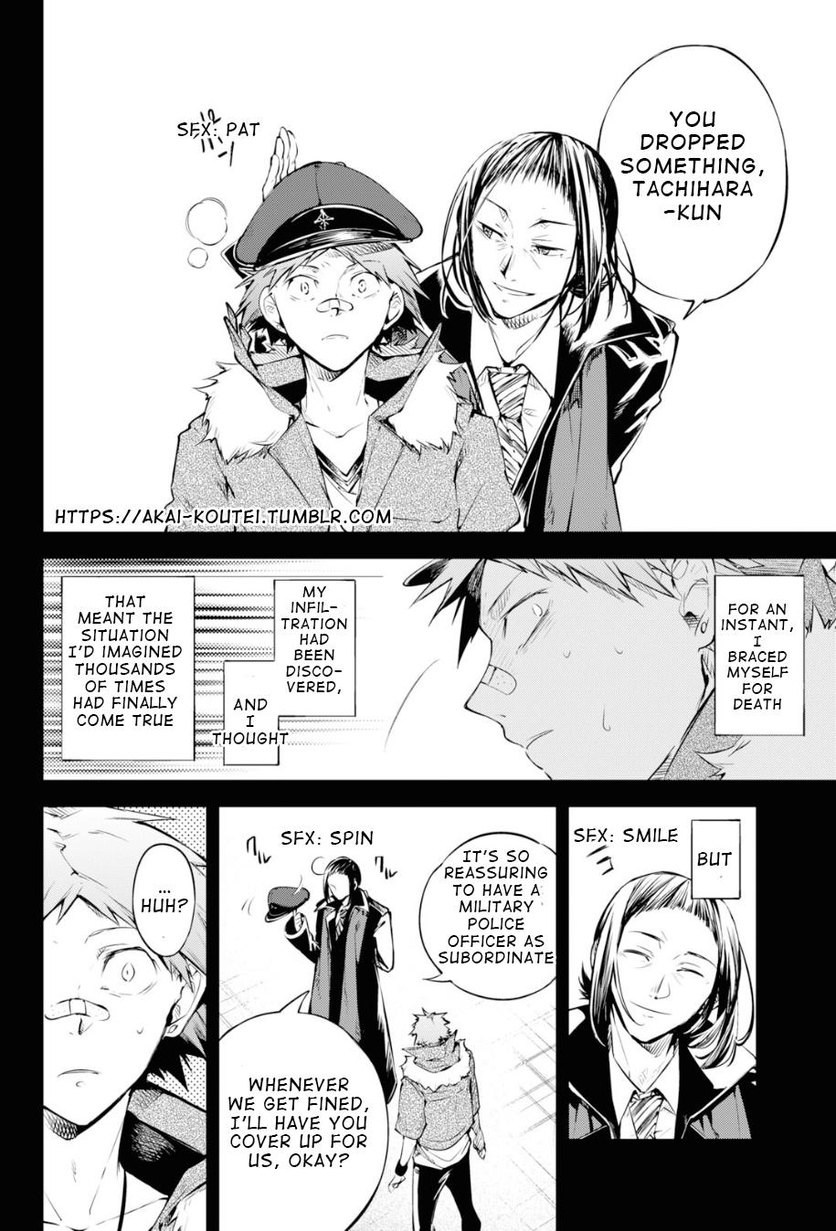 Bungou Stray Dogs Chapter 89 Page 14