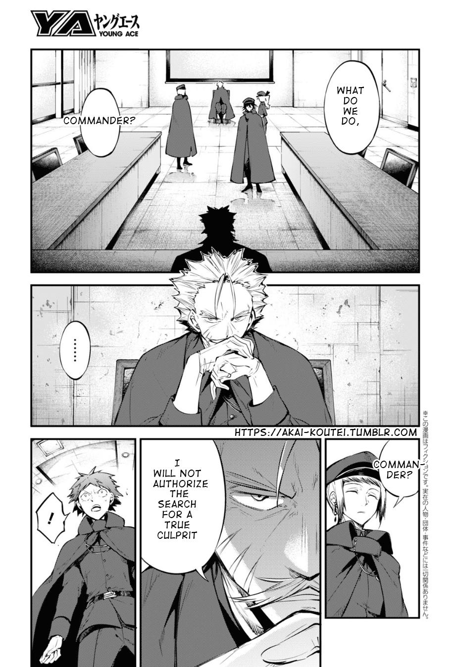 Bungou Stray Dogs Chapter 89 Page 3