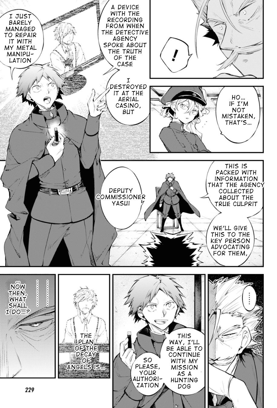 Bungou Stray Dogs Chapter 89 Page 5