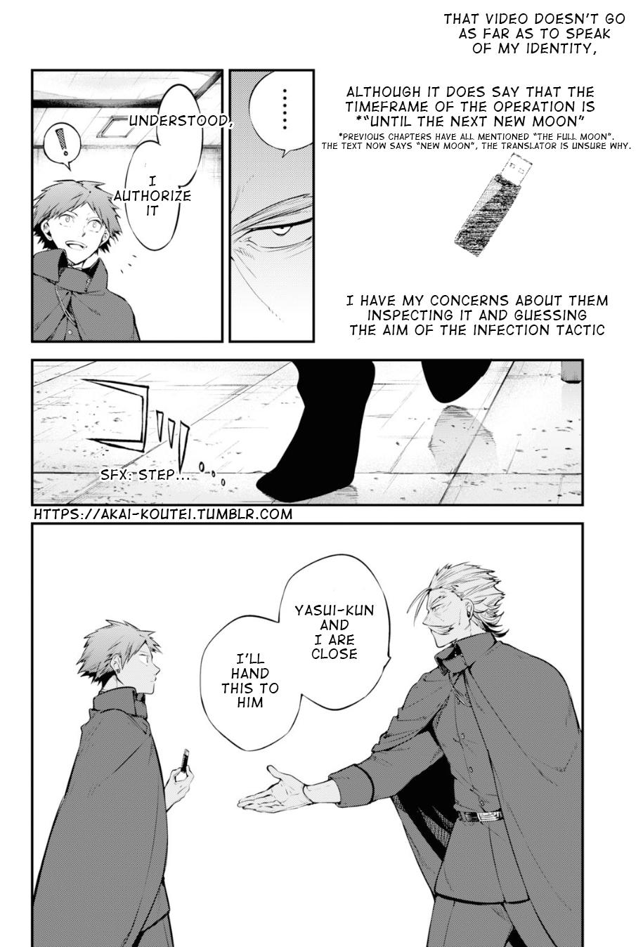 Bungou Stray Dogs Chapter 89 Page 6
