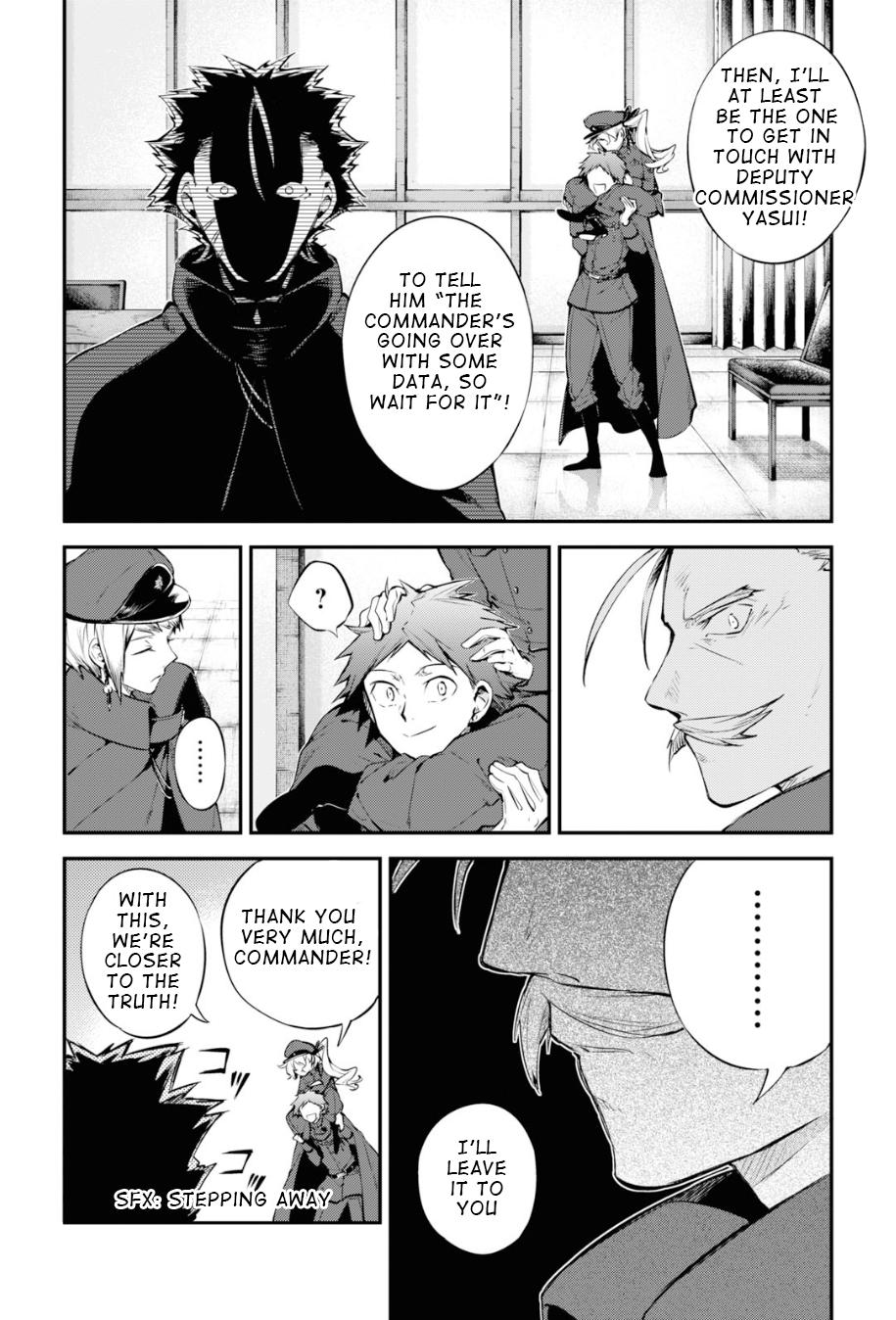 Bungou Stray Dogs Chapter 89 Page 8
