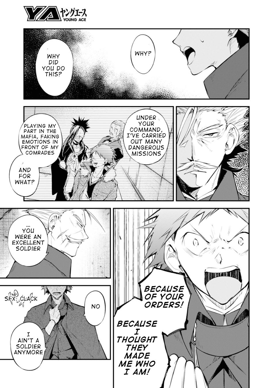 Bungou Stray Dogs Chapter 89.5 Page 4