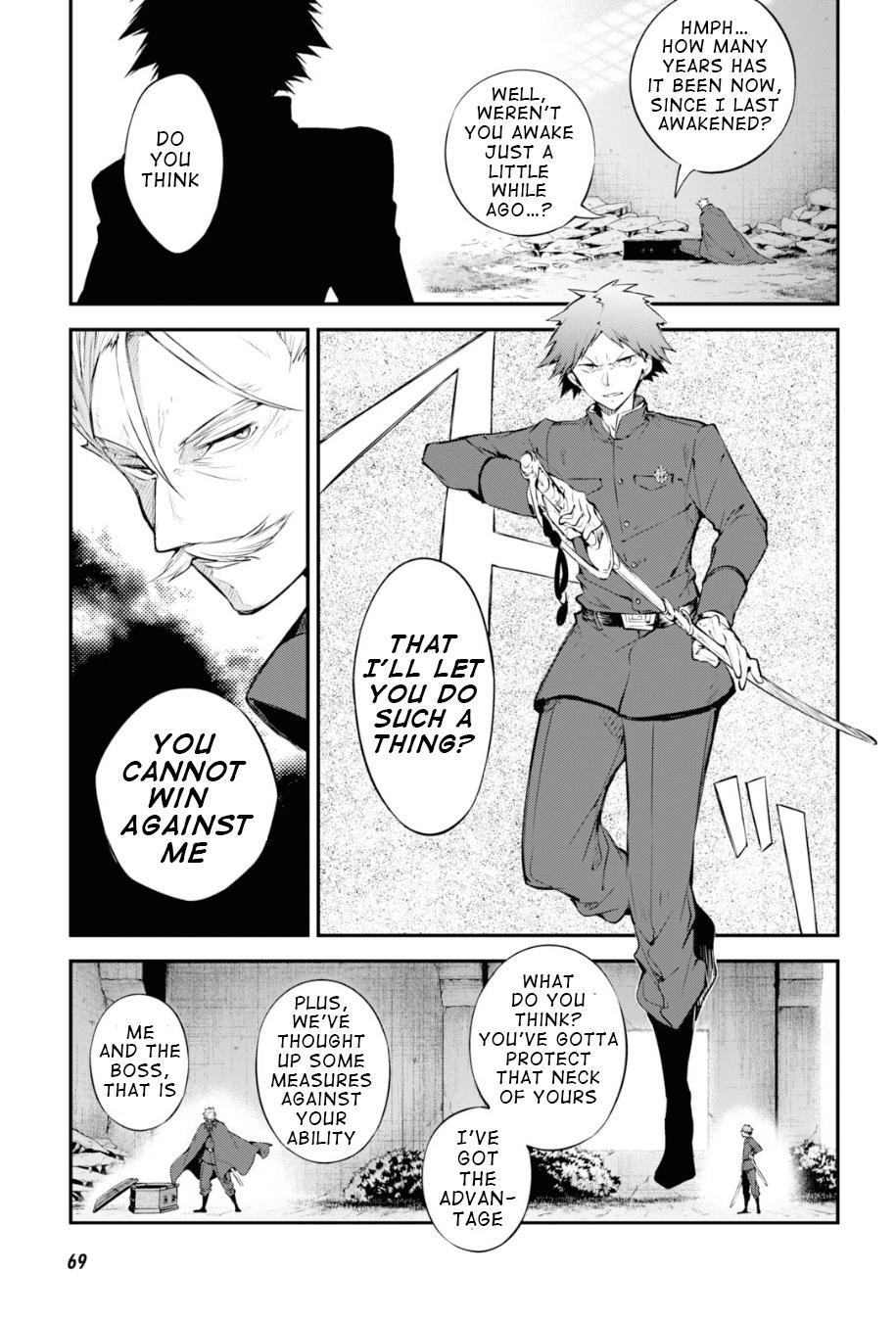 Bungou Stray Dogs Chapter 89.5 Page 6