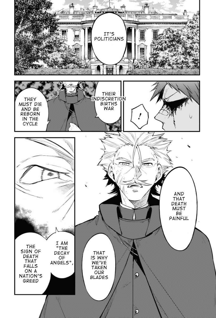 Bungou Stray Dogs Chapter 90 Page 11