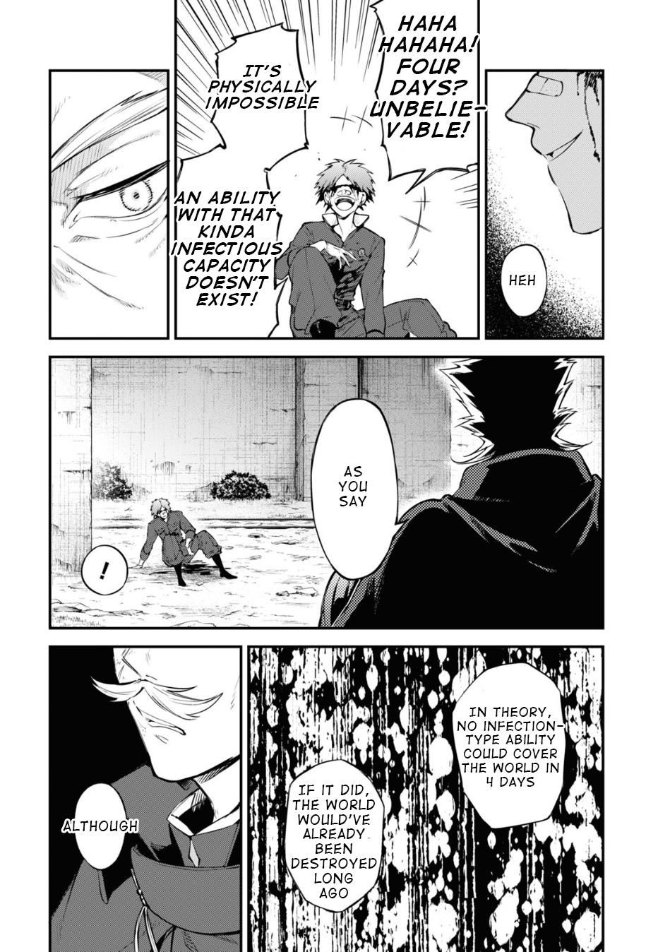 Bungou Stray Dogs Chapter 90 Page 14