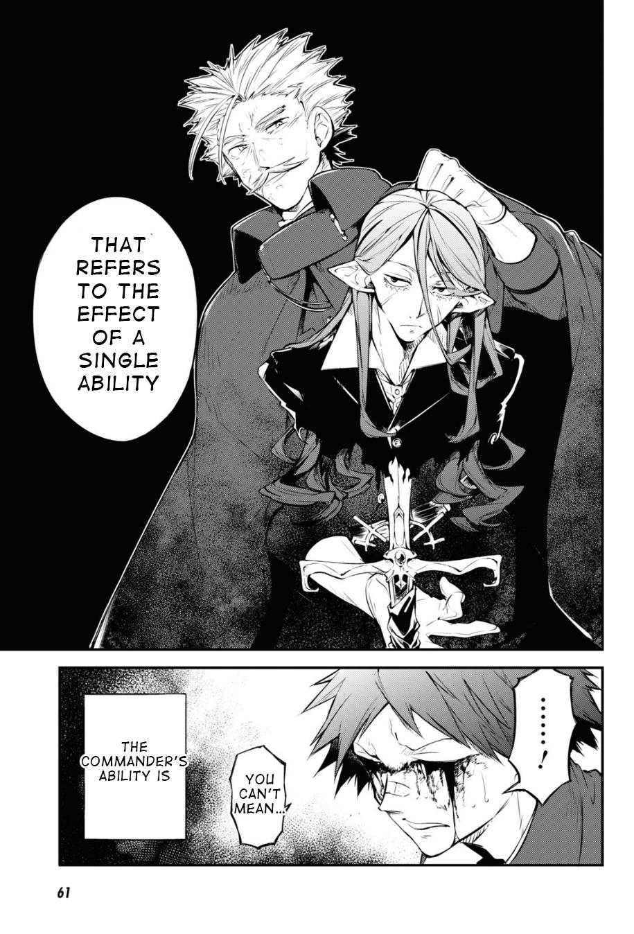 Bungou Stray Dogs Chapter 90 Page 15
