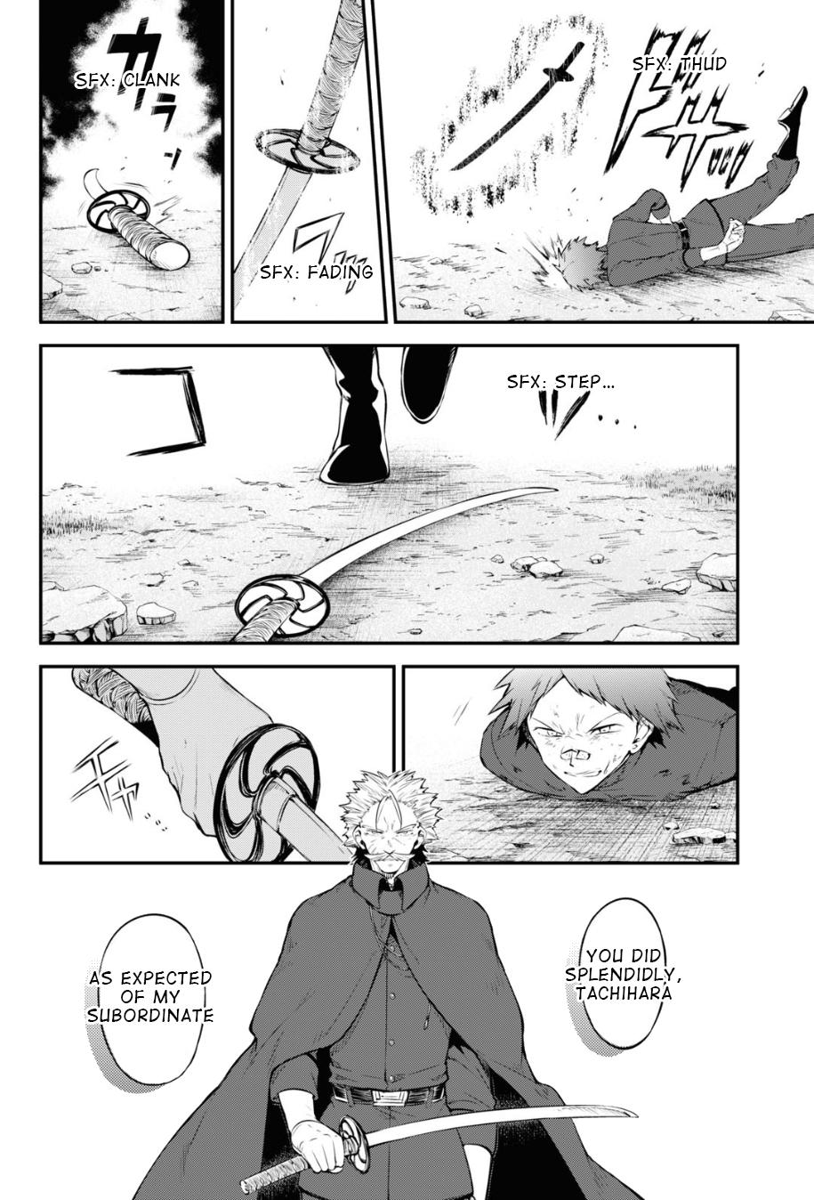 Bungou Stray Dogs Chapter 90 Page 2