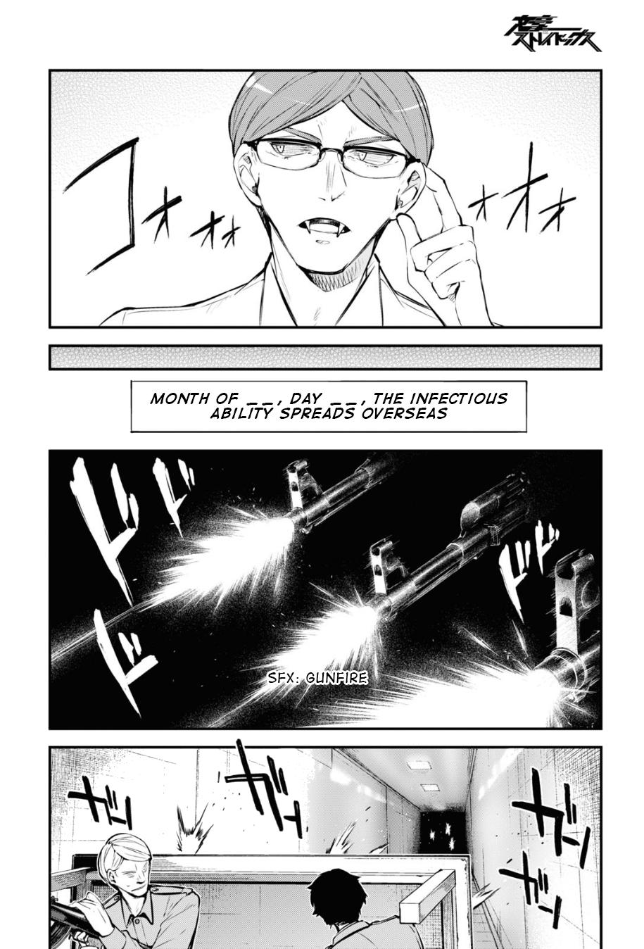 Bungou Stray Dogs Chapter 90 Page 20