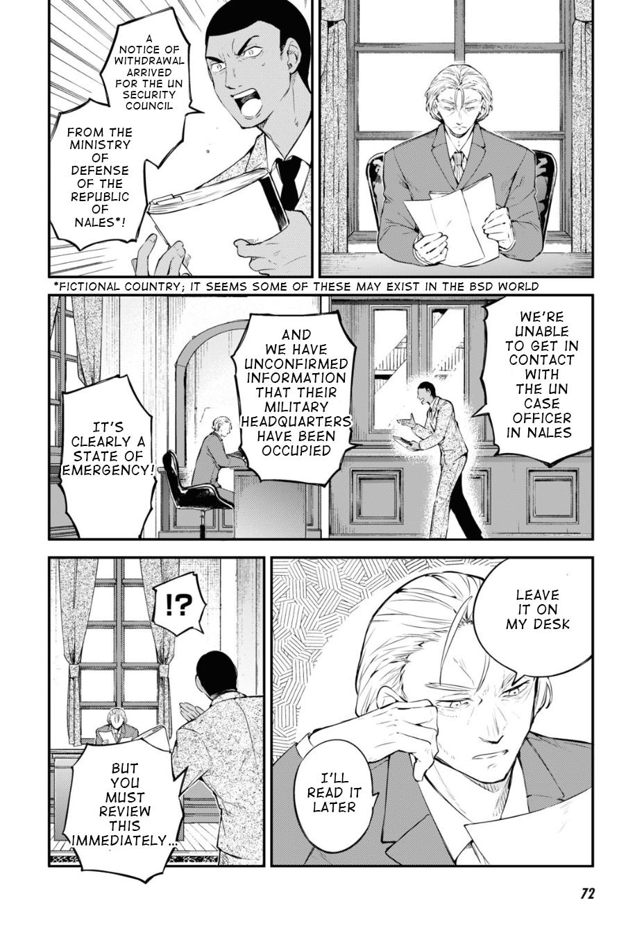 Bungou Stray Dogs Chapter 90 Page 26