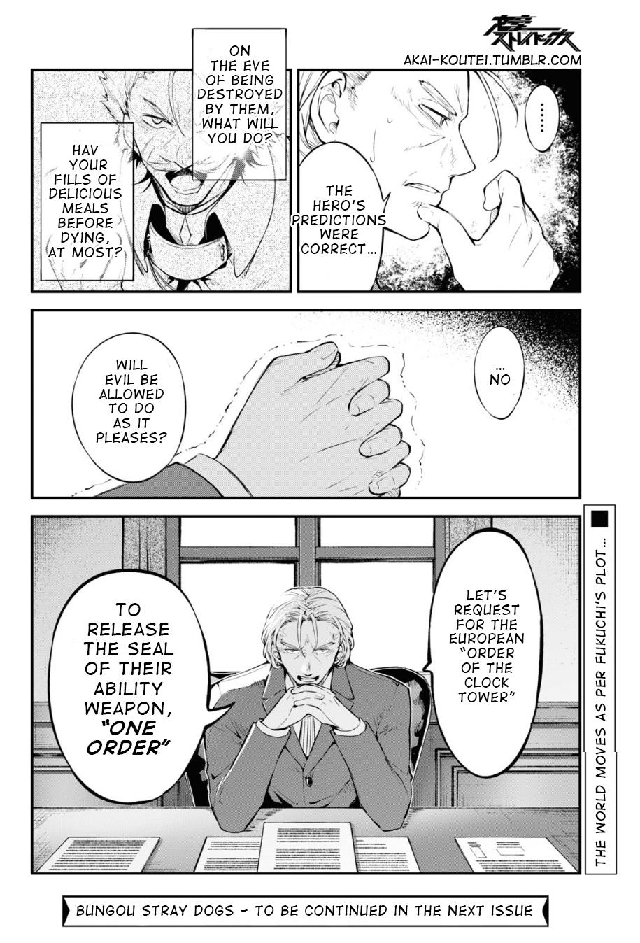 Bungou Stray Dogs Chapter 90 Page 28