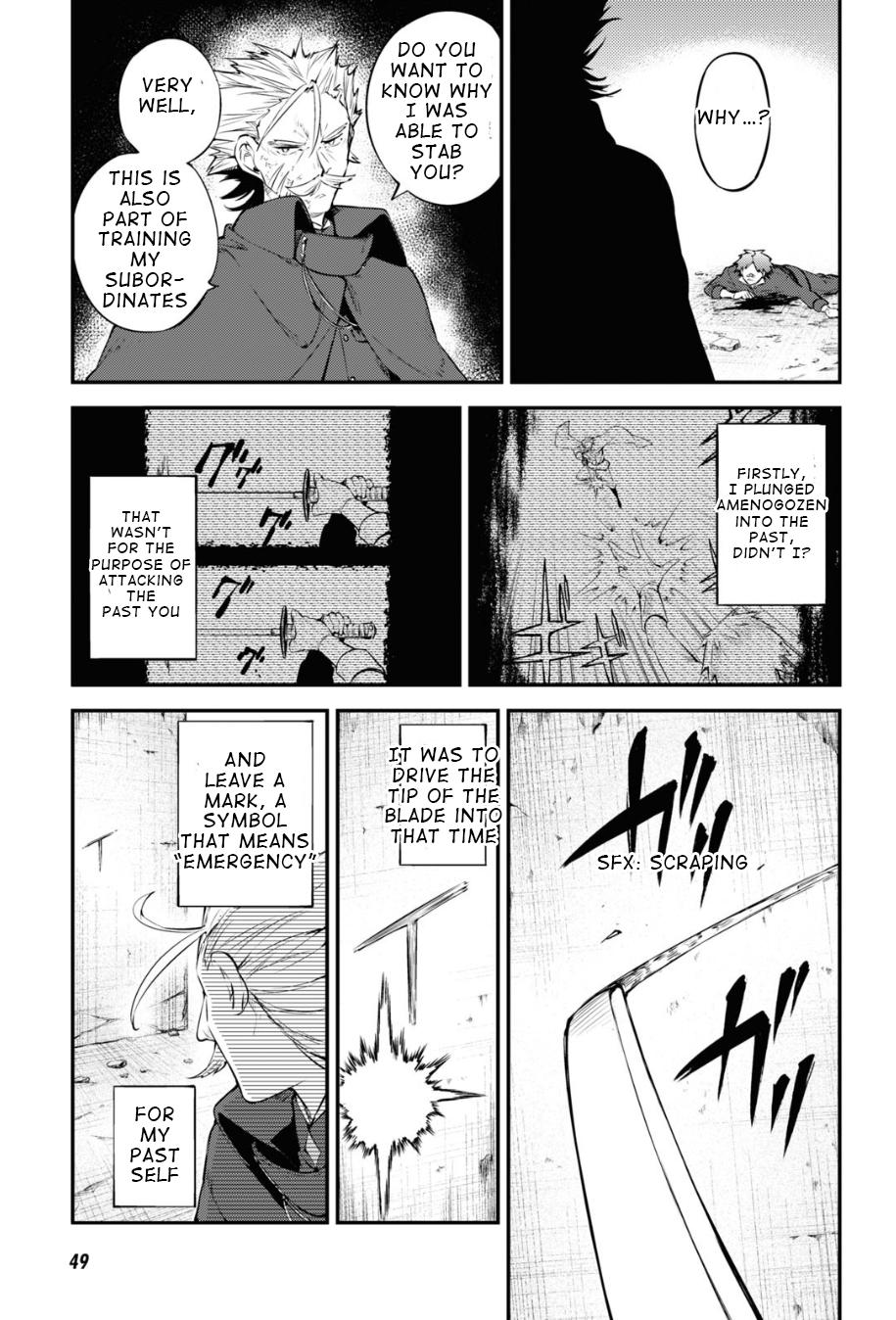 Bungou Stray Dogs Chapter 90 Page 3