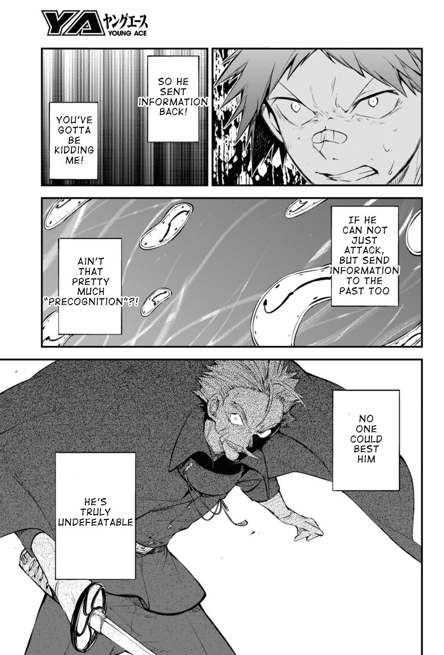 Bungou Stray Dogs Chapter 90 Page 5