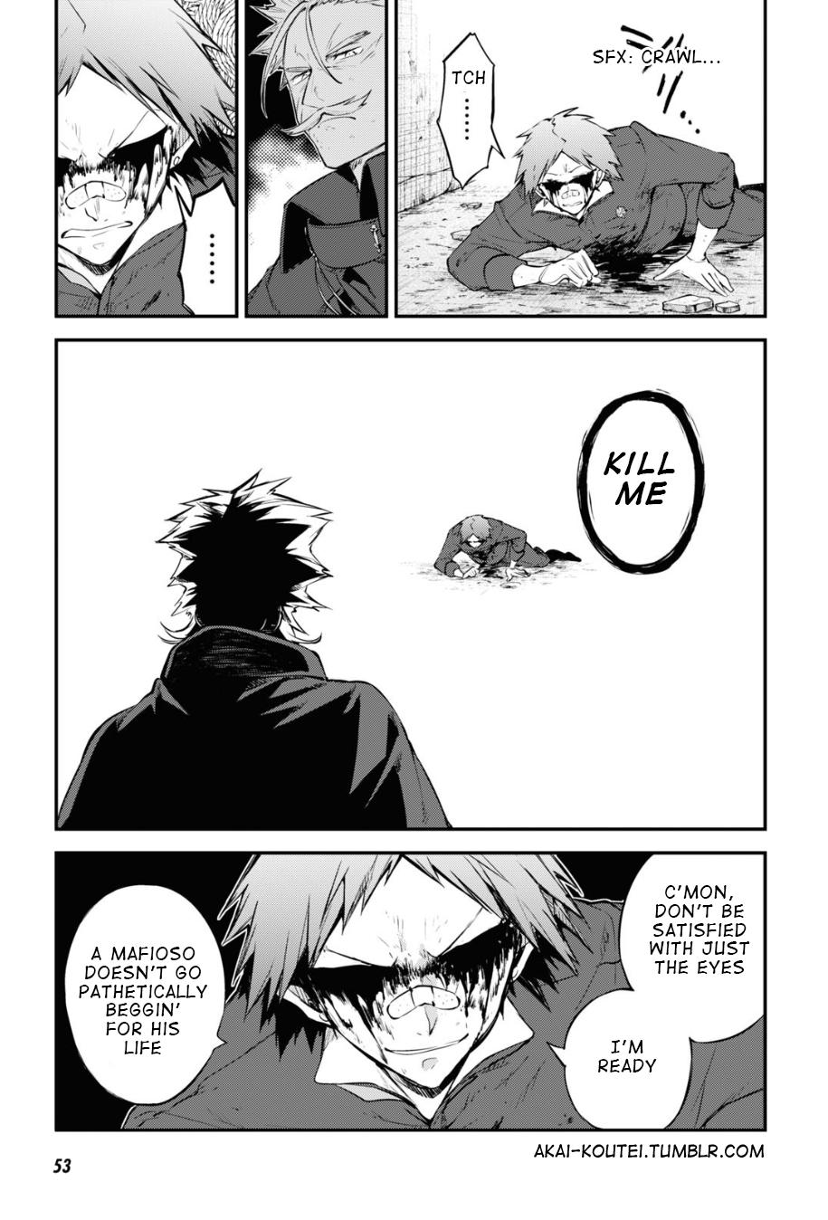 Bungou Stray Dogs Chapter 90 Page 7