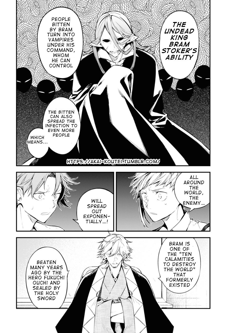 Bungou Stray Dogs Chapter 91 Page 12