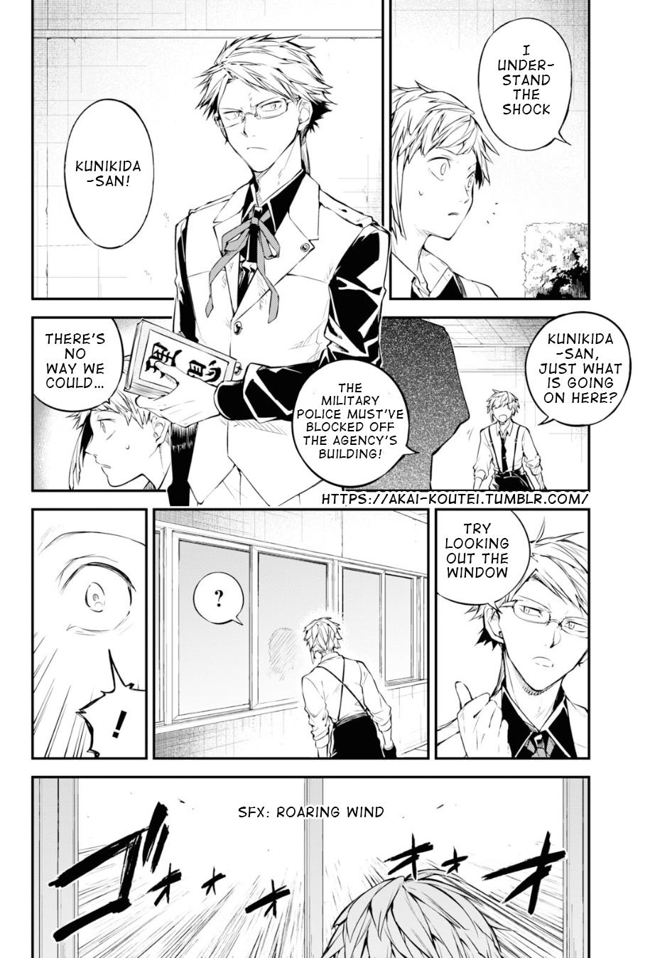 Bungou Stray Dogs Chapter 91 Page 2