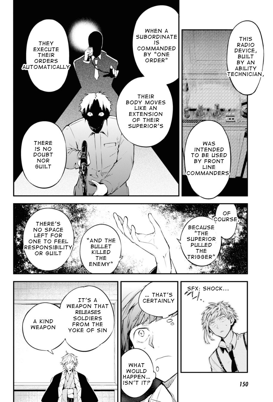 Bungou Stray Dogs Chapter 91 Page 24
