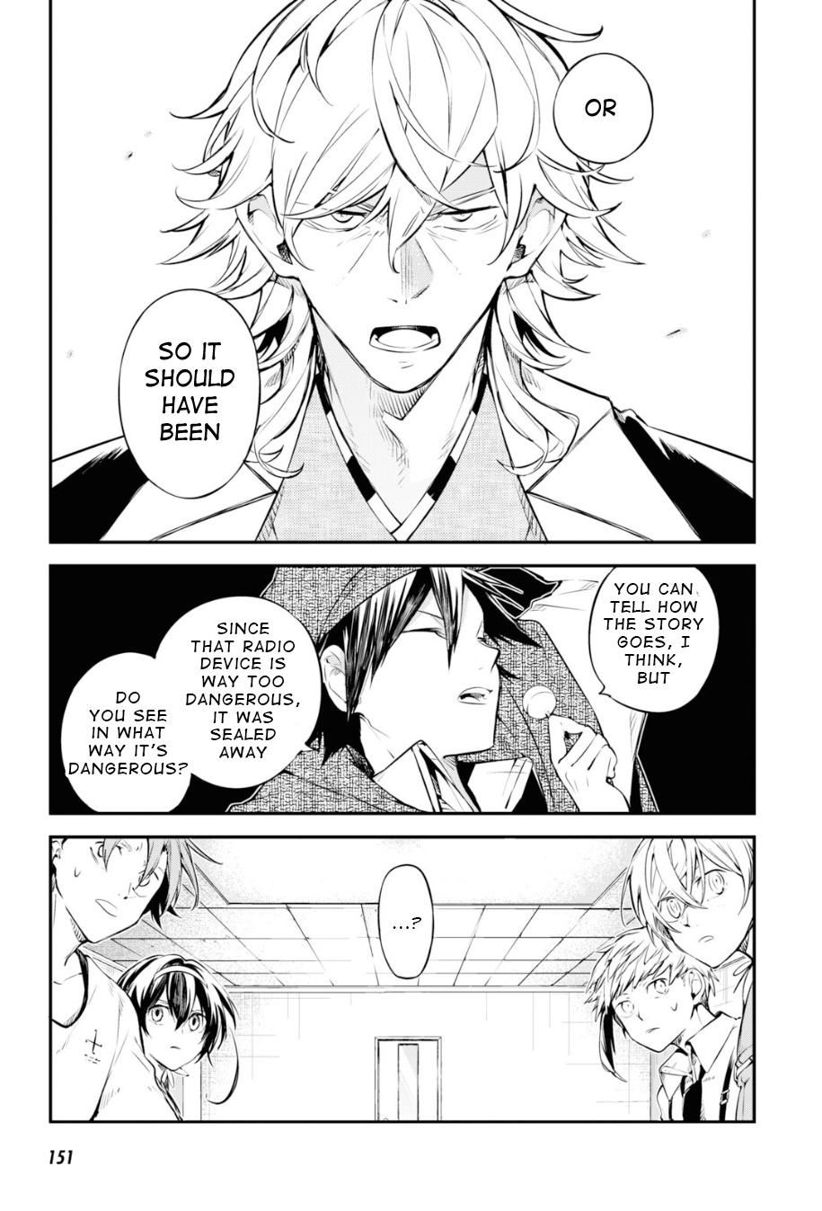 Bungou Stray Dogs Chapter 91 Page 25