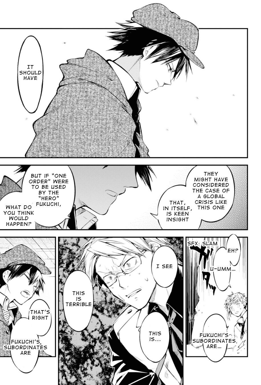 Bungou Stray Dogs Chapter 91 Page 27