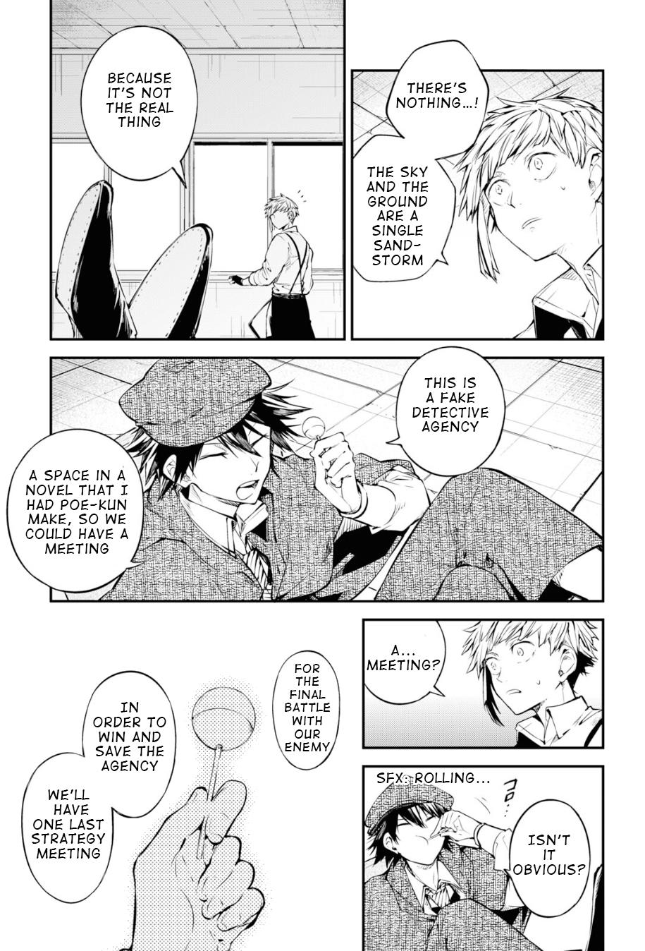 Bungou Stray Dogs Chapter 91 Page 3