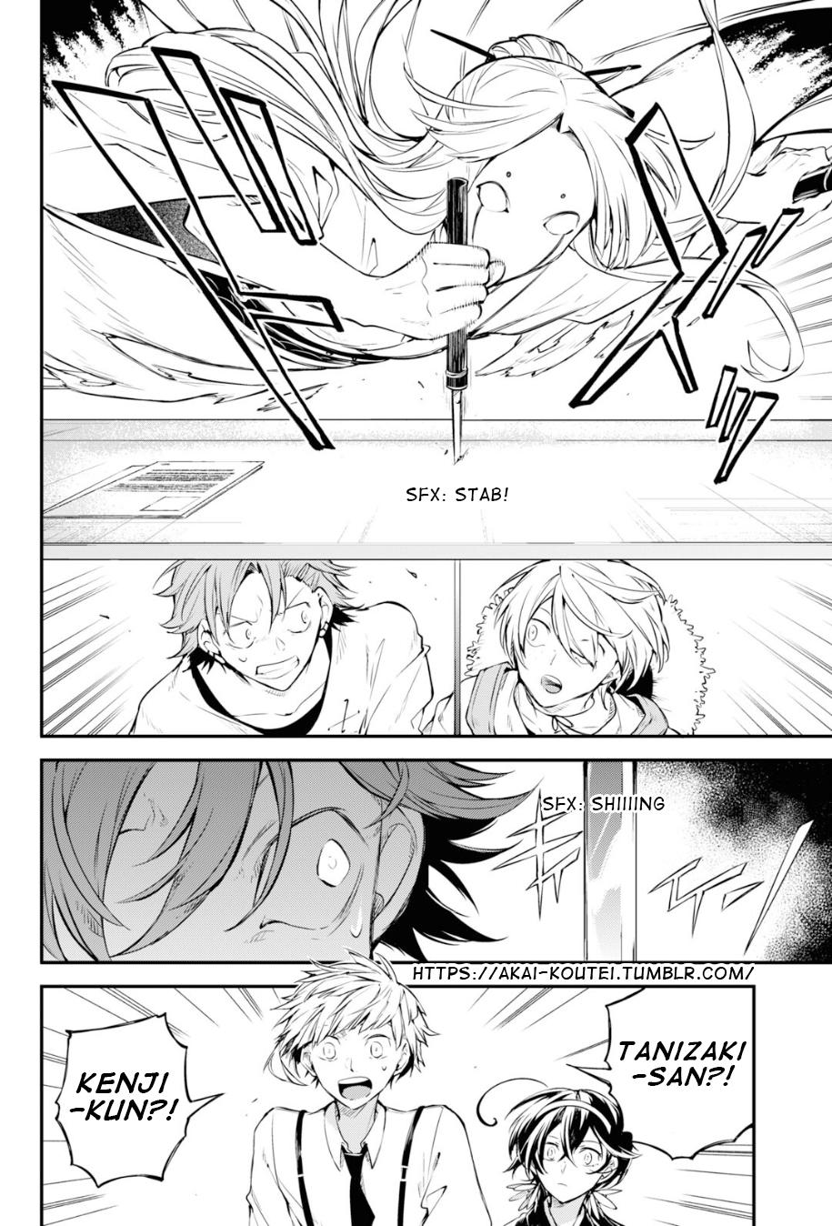 Bungou Stray Dogs Chapter 91 Page 6