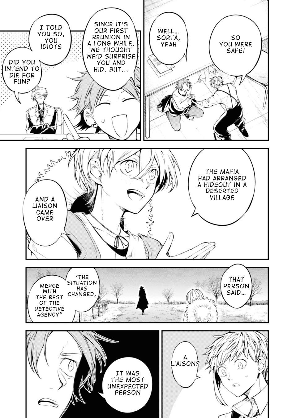 Bungou Stray Dogs Chapter 91 Page 7